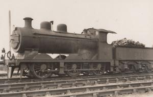 LB & SC Class 0-6-0 No 544 RJ Billington Train Real Photo Postcard