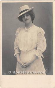 Miss Marie Studholme Theater Actor / Actress Unused