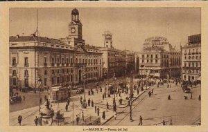 Spain Madrid Puerta del Sol
