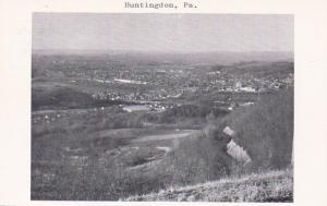 Pennsylvania Huntington Panoramic View