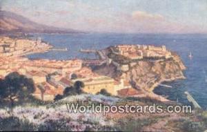 De Rocher, France, Carte, Postcard Principaute De Monaco De Rocher Principaut...
