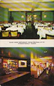 New York City Black Angus Restaurant Interior