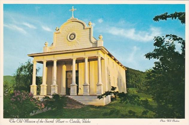 Idaho Cataldo The Old Mission Of The Sacred Heart