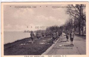 Field Kit Inspection, Fort Niagara NY