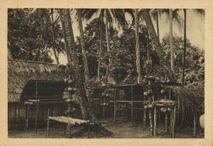 papua new guinea, Bismarck Archipelago, New Ireland, Native Village Zam (1934)