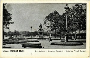 CPA AK INDOCHINA Saigon Boulevard Bonnard VIETNAM (957258)