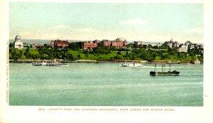 NY - New York City. Grant's Tomb & Columbia Univ. across the Hudson