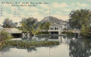 EAST PROVIDENCE, Rhode Island, PU-1911; Ten Mile River & Boat Club