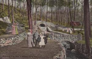 READING, Pennsylvania, PU-1920; View of Mineral Spring Park