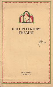The Maitlands Ronald Mackenzie Hull Yorkshire 1934 Theatre Programme