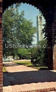 NC State University in Raleigh, North Carolina