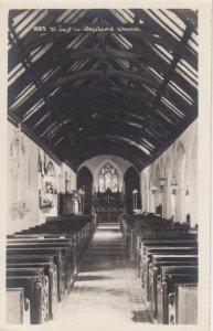 RP: ROSELAND , Cornwall , England , 1920-30s ; St Justin Church , Interior