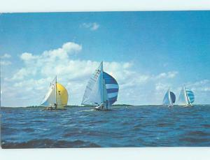 Pre-1980 SAILBOAT BOATS ON BARNEGAT BAY Seaside Heights by Toms River NJ hp6349