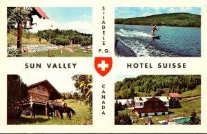 Canada Quebec Ste Adele Sun Valley Hotel Suisse