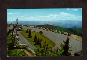 TN Clingman's Dome Tennessee Postcard NC Great Smoky Mountains National Park