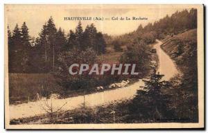 Old Postcard Hauteville Ain Col de la Rochette