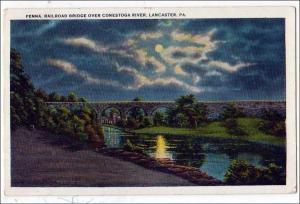 Penn Railroad Bridge, Lancaster PA