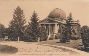 CINCINNATI, Ohio, 1906; Observatory of the Cincinnati University @ Mount Lookout