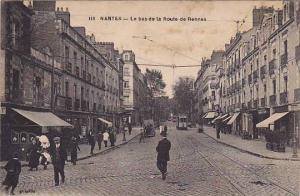 NANTES , France , 00-10s ; Le Bas de la Route de Rennes