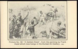 BOER WAR, A Gallant Deed by Frank Dadd