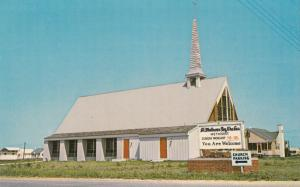 ST. MATHEWS BY-THE-SEA METHODIST CHURCH, Fenwick Island, Delaware, Postcard