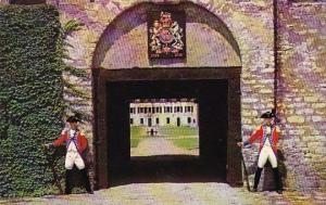 New York Old Fort Niagara South Redoubt Of Old Fort Niagara French Castle In ...