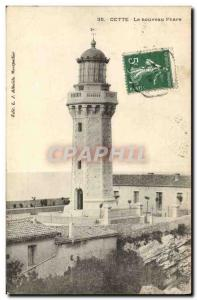 Old Postcard The New Lighthouse