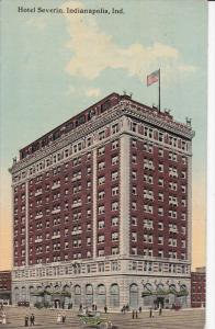 Hotel Severin, Indianapolis, Indiana, PU-1913