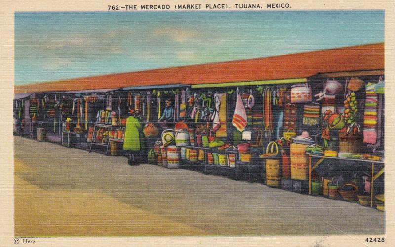 Tijuans , The Mercado , MEXICO , 30-40s