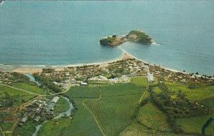 Aerial View The Village Islet and Sugar Factory Ste Marie Martinique 1970