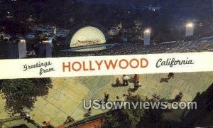 Greetings from - Hollywood, CA
