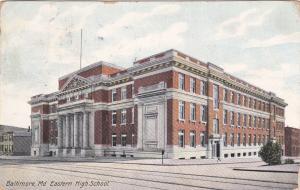 BALTIMORE, Maryland, PU-1909; Eastern High School (Exterior)