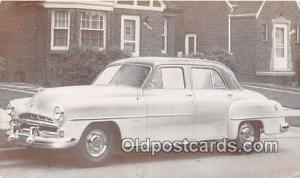 Postcard Post Card 1951 Dodge Coronet 4 Door Sedan