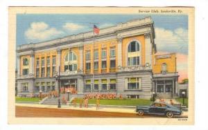 Service Club , Louisville, Kentucky, 30-40s