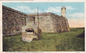 Hot Shot Oven Fort Marion Saint Augustine Florida