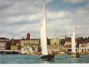 Sailing, Kempenfelt Bay in Barrie, Ontario, Canada, 50-70