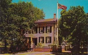Abraham Lincoln's House Springfield Illinois
