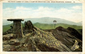 VT - Camel's Hump or Crouching Lion