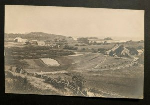Mint Vintage Raleigh North Carolina Farms Real Picture Postcard