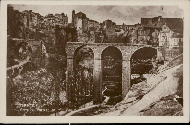 Ecuador Cuenca Antiguo poente de Sn. Pablo old bridge