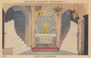 WASHINGTON D.C. , 30-40s; Franciscan Monastery, Grotto of Bethlehem