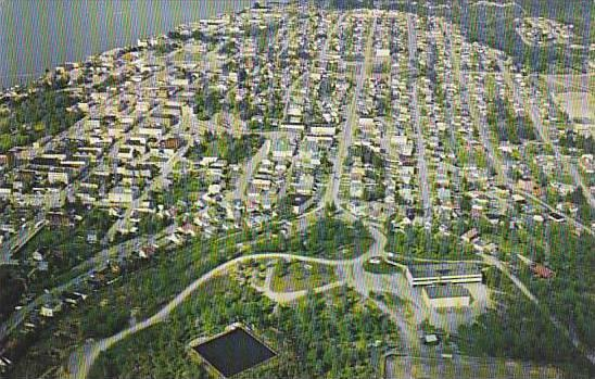 View of Prince Rupert, Roosevelt Park, Alberta, Canada, 40-60s