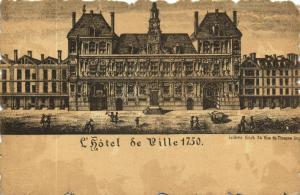 CPA Paris 4e (Dep. 75) Hotel de Ville (83757)
