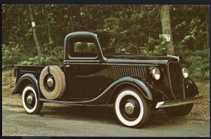 Classic Truck Postcard 1936 FORD V-8 Pick-Up