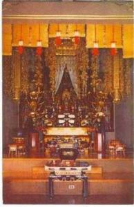 Sanctuary, Soto Zen Temple (Buddhist), Honolulu, Hawaii, 40-60s