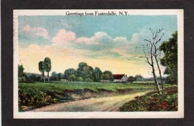 NY Greetings from FOSTERDALLE FOSTERDALE NEW YORK PC