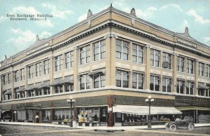 Iron Exchange Building, Brainerd, Minnesota ca 1910s Vintage Postcard