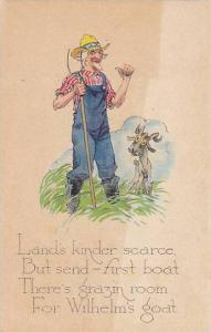Farmer & A Goat, PU-1922
