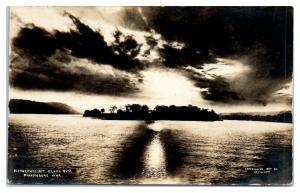 1907 RPPC Blennerhassett Island near Parkersburg, WV Real Photo Postcard *5F1