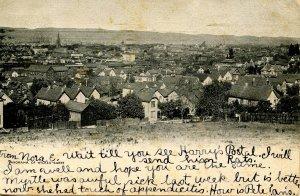 PA - Wilkes-Barre. Panoramic View circa 1906
